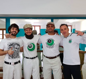 Caps, Flavio, Mestre Formigão e Luigi